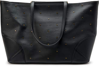 MCM Claudia Tote Studded Medium Black