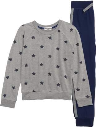 PJ Salvage Super Star Two-Piece Pajamas