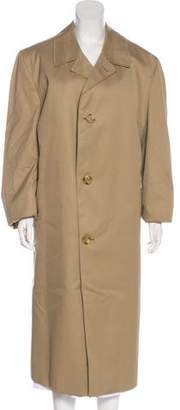 Aquascutum London Button-Up Trench Coat