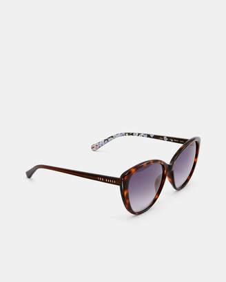 Ted Baker JAZMINE Printed cat eye sunglasses