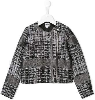 Karl Lagerfeld Tweed short jacket