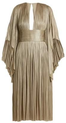 Maria Lucia Hohan Nadina pleated tulle midi dress