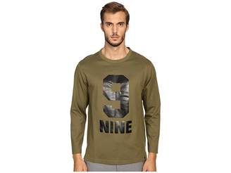 Marc Jacobs Slim Fit Solid Jersey Long Sleeve Tee Men's T Shirt