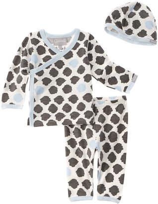 Coccoli Boys' Blue & Grey 3Pc Loungewear Set