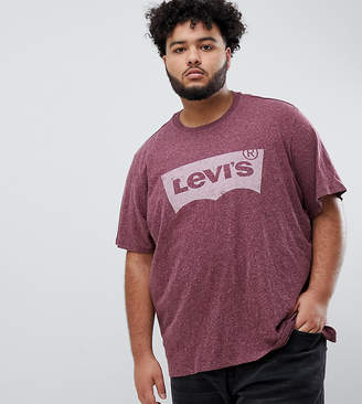 Levi's Levis Big & Tall batwing t-shirt in dress fig