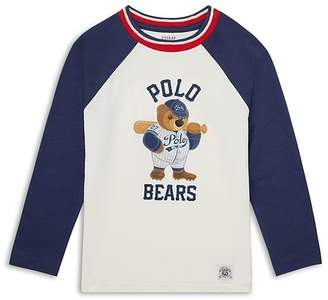 Polo Ralph Lauren Boys' Polo Bears Baseball Tee - Little Kid