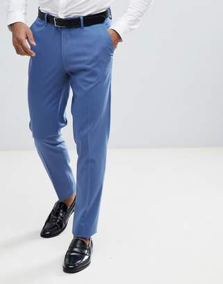 Asos DESIGN Skinny Suit Pants In Cornflour Blue