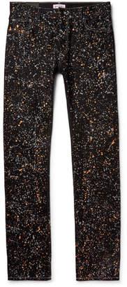 Palm Angels Paint-Splattered Denim Jeans