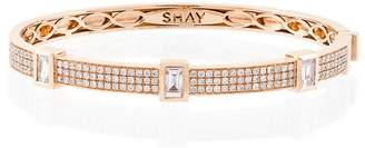 Shay baguette diamond band bracelet