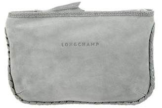 Kate Moss x Longchamp Suede Zip Pouch