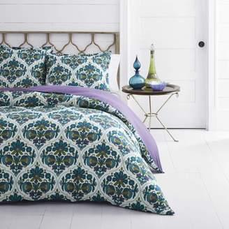 Azalea Azaela Skye Skye Luna Medium Blue Duvet Cover Set, Twin