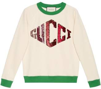 Gucci Sweatshirt with game appliqué