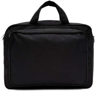 Comme des Garcons Homme Deux Homme Deux Black Large Zip Briefcase