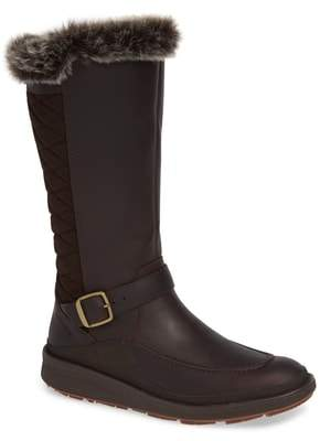 Merrell Tremblant Ezra Polar Waterproof Boot with Faux Fur Trim