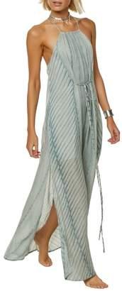 O'Neill Lenore Stripe Maxi Dress