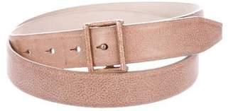 Brunello Cucinelli Leather Hip Belt