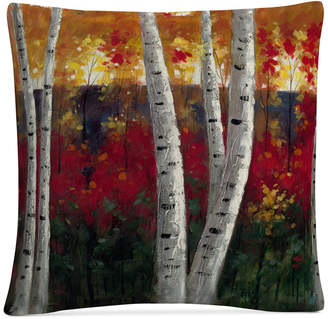 "Trademark Global Rio Autumn 16"" x 16"" Decorative Throw Pillow"