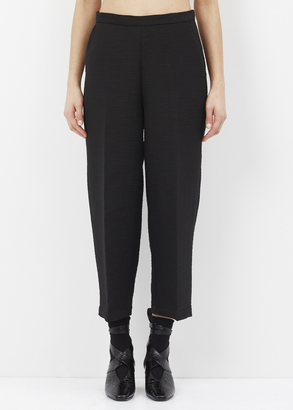 Rachel Comey black slim limber pant $448 thestylecure.com