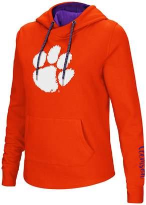 Women's Clemson Tigers Crossover Hoodie