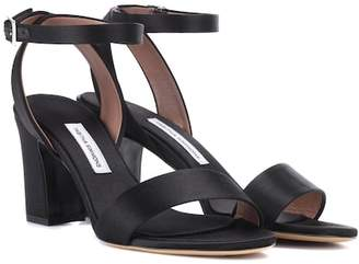 Tabitha Simmons Leticia satin sandals