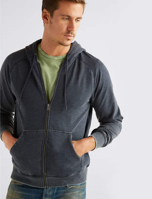 Lucky Brand VENICE BURNOUT HOODIE
