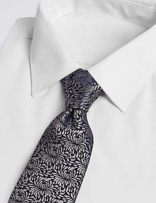 Marks and Spencer Pure Silk Floral Tie