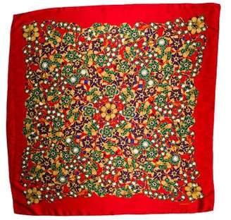 Chanel Silk Printed Scarf