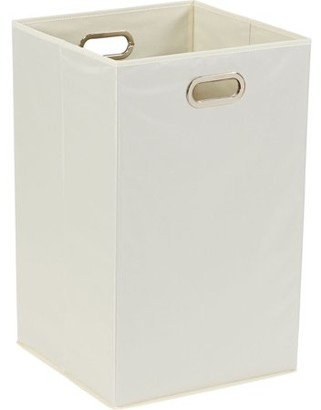 Household Essentials GEN Collapsible Laundry Hamper, Natural