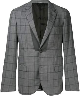 Lanvin check formal blazer