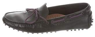 Paul Smith Tie-Up Leather Loafer w/ Tags