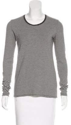 ATM Striped Long Sleeve Top