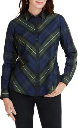 Foxcroft Tina Lenox Tartan Shirt
