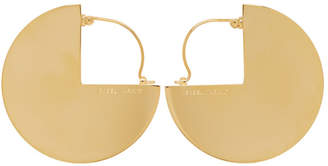 Isabel Marant Gold 90 Degree Earrings