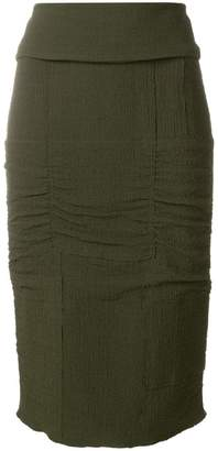 Tom Ford panelled pencil skirt