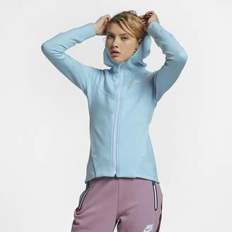Nike Women's Full-Zip Hoodie Sportswear Tech Fleece Windrunner