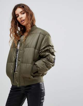 Cheap Monday Risky Quilted Bomber