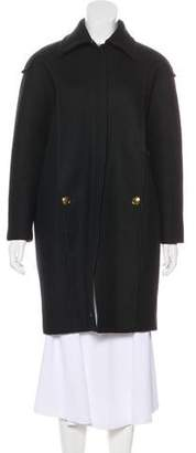Gucci Knee-Length Wool Coat