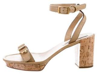 Stella McCartney Cork Platform Sandals