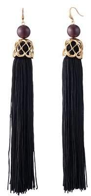 Trina Turk Statement Tassel Earrings