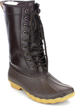 Brown Hunter Boot - Women $45.99 thestylecure.com
