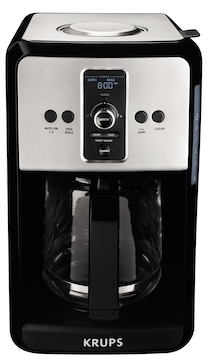 Savoy Turbo 12-Cup Stainless Steel Coffee Maker