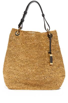 Michael Kors Collection Santorini Large Shoulder Bag $495 thestylecure.com
