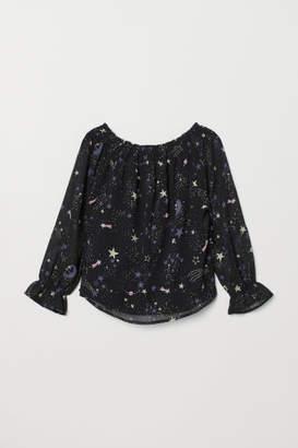 H&M Viscose Blouse - Black