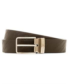 Emporio Armani Monogram Reversible Belt