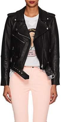 Current/Elliott Women's The Shaina Leather Biker Jacket