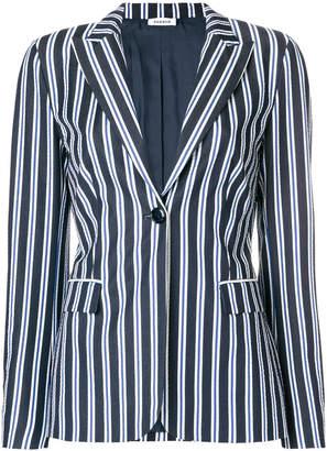 P.A.R.O.S.H. striped fitted blazer