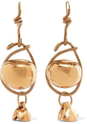 Marni Gold-tone Earrings