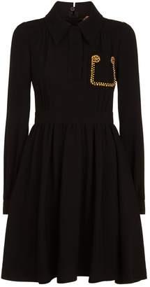 N°21 N 21 Embellished Pocket Dress