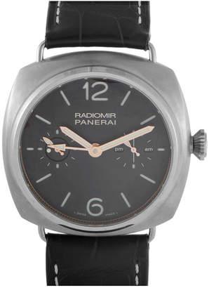 Panerai Officine Men's Leather Watch