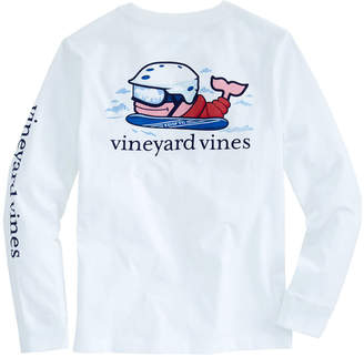 Vineyard Vines Boys Long-Sleeve Send It Pocket T-Shirt